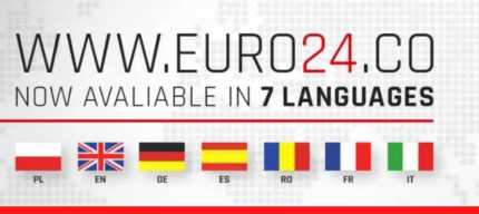 WWW.EURO24.co available now in 7 languages - Euro24